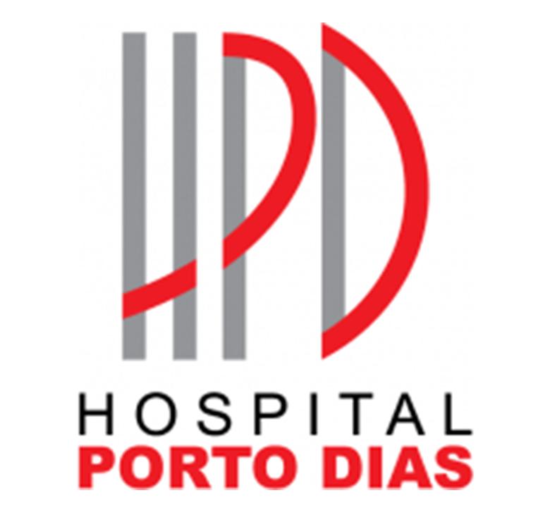 Logomarca do Hospital Porto dias